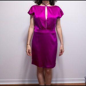 Authentic Zac Posen beautiful pink satin dress